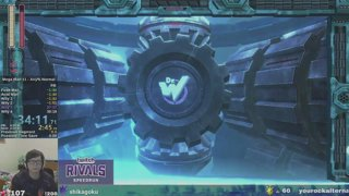 Twitch Rivals Mega Man 11 Speedrun