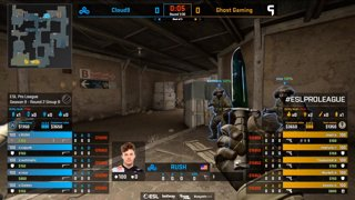 [PT-BR] Cloud9 vs. Ghost | ESL Pro League 2019 | Dia 17 - [Mapa 3 - DUST2]