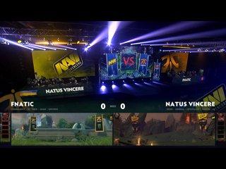 видео: Natus Vincere vs Fnatic, game 1