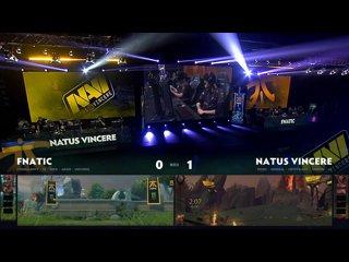 видео: Natus Vincere vs Fnatic, game 2