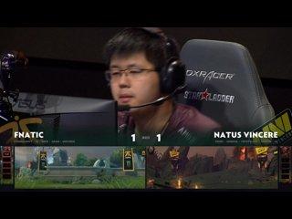 видео: Natus Vincere vs Fnatic, game 3