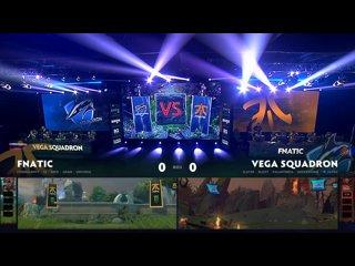 видео: Fnatic vs Vega Squadron, game 1