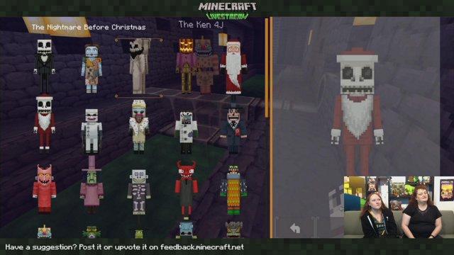 The Nightmare Before Christmas with 4J Studios - Dec 19, 2018. logo Minecraft