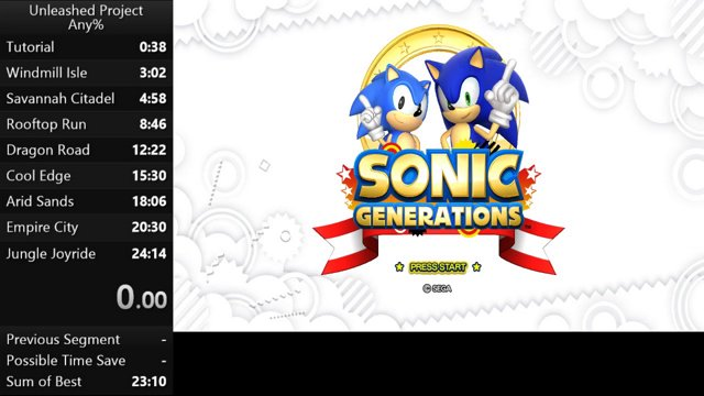 Sonic Generations - Unleashed Project 23:28