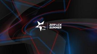[2019 우리은행 LCK Summer] DWG vs. HLE - KZ vs. GRF