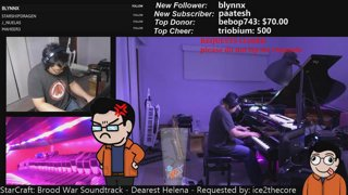 The Most Keyboards On Twitch playing music for you through the australian night