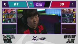 GRF vs. AF - SBG vs. KT | Week 4 Day 5 | LCK Spring Split (2019)