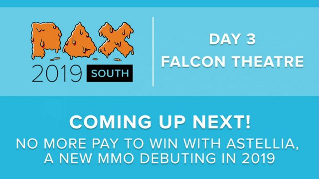 PAX SOUTH 2019 - No more Pay to Win with Astellia, a new MMO debuting in  2019