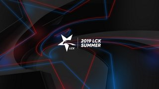 [2019 우리은행 LCK Summer] GRF vs. DWG - GEN vs. KZ