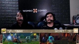 [FIL] Na'Vi 0 vs 1 Team Secret | Game 1 | Maincast Autumn Brawl