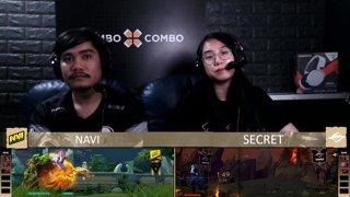 [FIL] Na'Vi 1 vs 1 Team Secret | Game 2 | Maincast Autumn Brawl