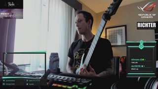 Matt Heafy [Trivium] | Odessa, TX | Warm ups and Fort ups from a hotel room | Show at 10pm ct | !net !voice