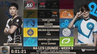 NA LCS Lounge: Team Liquid vs. Cloud9
