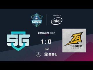 SG e-Sports vs T.Awaken - ESL One Katowice SA - Game 2