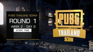 PUBG Thailand Scrim - Week 2 Day 2 !pts !teams !sea !map !prize