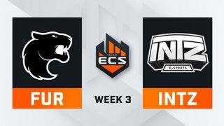 FURIA vs INTZ - Map 1 - Inferno (ECS Season 7 - Week 3 - DAY4)
