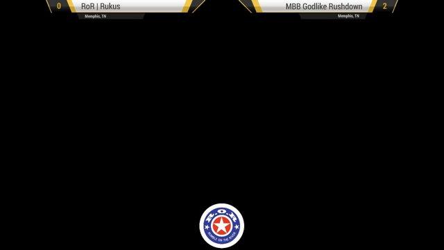 ROR – MBB|Godlike Rushdown (Spe/Dr/Ver) vs Danno (Mag/Dor/Dr) UMvC3 - GRAND  FINALS