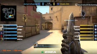 VOD: 📽️ Chiefs vs Astral Influence - BO1 - mirage [ESEA MDL Season 30 Australia]