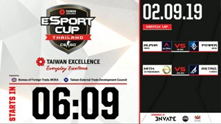 TAIWAN Excellence e-Sport Cup Thailand : รอบ 16 ทีมสุดท้าย BO1