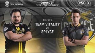 SPY vs. VIT | Third Place Match | EU LCS Spring Split | Splyce vs. Team Vitality (2018)
