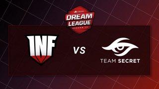 Infamous vs Team Secret - Game 2 - Playoffs - CORSAIR DreamLeague S11 - The Stockholm Major