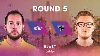BLAST Pro Series Los Angeles 2019 - Front Row - Round 5 - MIBR Vs. Faze Clan