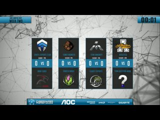 AOC CGPL Winter Wk2 - Chiefs VS Dark Sided Game 1