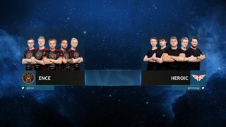 CS:GO - Heroic vs. ENCE [Overpass] Map 1 - Group B - IEM Chicago 2019