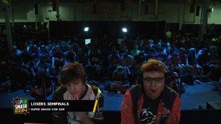 SSC 2019 SSBU - PG Marss (ZSS) VS FOX MVG MkLeo (Joker) Smash Ultimate Loser's Semifinals