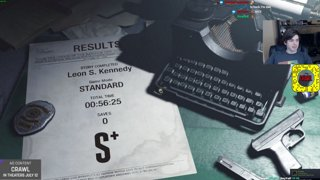 Resident Evil 2 Race with Bawkbasoup, CarcinogenSDA and Maxylobes #Sponsored by Crawl