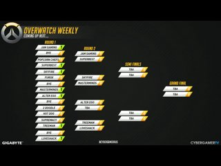 Overwatch Weekly #13 - Masterminds VS Skyfire