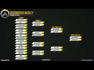 Overwatch Weekly #13 - Grand Final JAM Gaming VS Love Shack