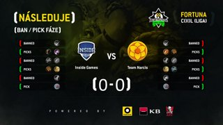 FORTUNA COOL liga: HS 7. kolo (Inside Games vs. Team Narcis)