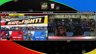 SSC 2019 SSBU - FOX MVG MkLeo (Joker) VS GW Zackray (Wolf) Smash Ultimate Winner's Quarters