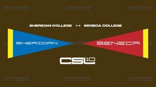 2018 Fall W4: [LoL JV1] Sheridan College vs Seneca College (Game 1)
