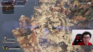 カジュアル 17kill 2877damage Apex Legends「翔丸」