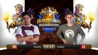 muzzy vs Gallon - Hearthstone Grandmasters Americas S2 2019 - Week 7