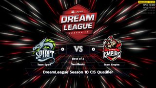 Full: [LIVE-THAI] 🏆 DreamLeague Season 10 CIS/EU/NA Qualifier - 25-9-2018 - Cyberclasher
