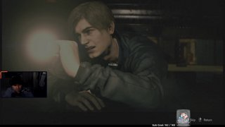 Day 1 - RE2 Playthrough - Hardcore Difficulty