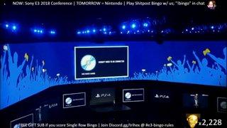Trihex E3 2018 Shitpost Bingo - Sony