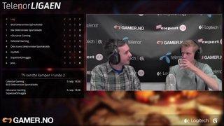 Telenorligaen høsten 2015: League of Legends Runde 2 - BX3 EK vs. Celestial Gaming - Kamp 2