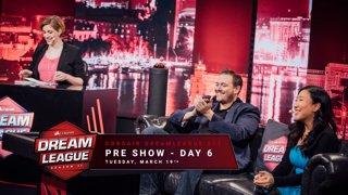 Pre show - Day 6 - CORSAIR DreamLeague S11 - The Stockholm Major