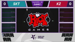 SKT vs. KZ | Playoffs Round 3 | LCK Spring Split | SK telecom T1 vs. KING-ZONE DragonX (2019)