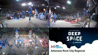 2019 FIRST Robotics Competition - Arkansas Rock City Regional - Multiview - Saturday (Part C)
