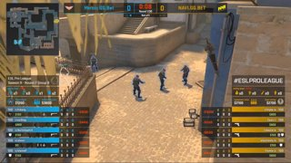 CS:GO - Heroic vs. Natus Vincere [Mirage] Map 2 - Group B - ESL Pro League Season 9 Europe