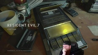 BIG BEARDED STREAMER IS A PUSS RE7 PART 1