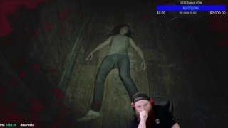 RIP OFFICER CARLOS! BIG BEARDED STREAMER IS A PUSS RE7 PART 2