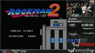 Mega Man 2 by Duckfist (Any % Difficult) - Race to the Finish
