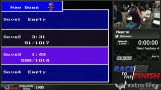 Final Fantasy 4 by Neerrm (Any %) - Race to the Finish