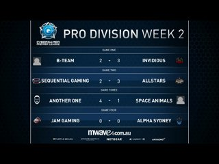 CGPL Autumn 2016 Week 2 JAM Gaming VS Alpha Sydney